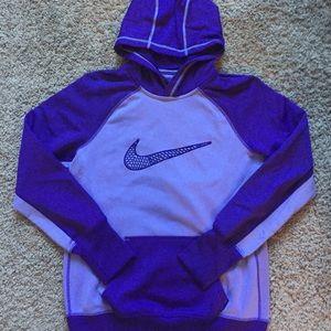 Nike Purple Therma-Fit Sweatshirt